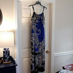 White House Black Market S Maxi Dress